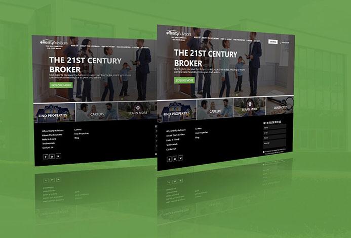 eRealty Advisors WordPress Website