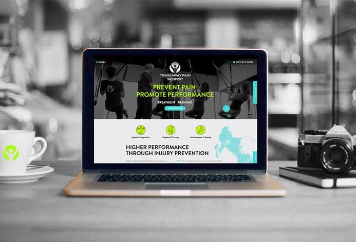 Train Away Pain WordPress Website