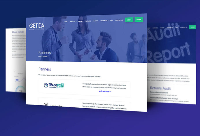 Getida WordPress Website