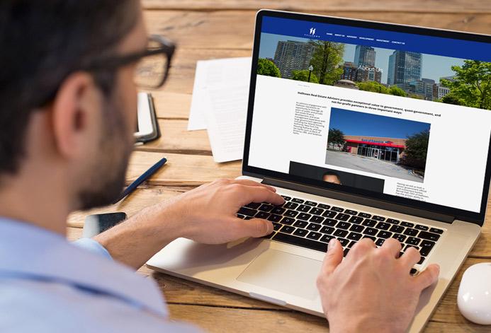 Hall Town Real Estate WordPress Website